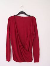 EDC, Ladies Deep Red Top, Size Medium