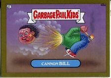 Garbage Pail Kids Mini Cards 2013 Gold Parallel Base Card 48a Cannon BILL