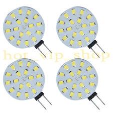 4x G4 LED Bulbs 1.7W DC 12V 200Lm super white Lamps Light 18-2835 SMD side-pin