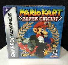 Mario Kart Super Circuit (Nintendo Game Boy Advance GBA) NEW SEALED NES SNES VGA