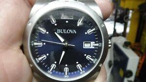 Bulova blue face