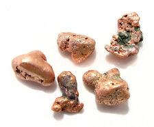 5pcs Native Natural Copper Michigan Nuggets LOT Mineral ROCK Metal Set Gemstone