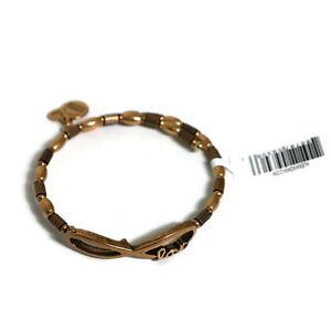 Alex and Ani Infinite Love Wrap Bracelet with Rafaelian Gold Finish VW463RG