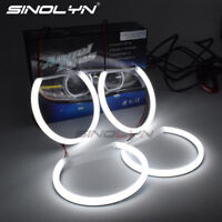SMD LED Angel Eye Halo Rings Lamp For BMW E46/E39/E38/E36 Headlight Retrofit DIY