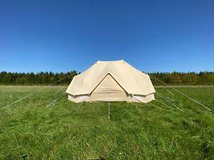 6m x 4m Emperor Tent - CHEAPEST PRICE IN THE UK - 285 GSM CANVAS FULL SPEC