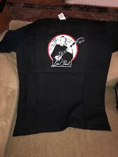 Gibson Les Paul T-shirt Size XL Signed