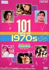 101 HITS OF 1970S - BOLLYWOOD MUSIC 3 DVD SET - FREE POST