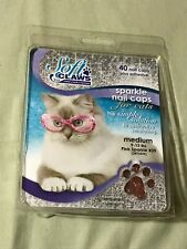 Feline Soft Claws Cat Nail Caps Take-Home Kit, Medium,Pink Sparkle #39 (2473339)