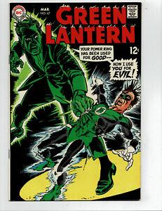Green Lantern 67 WHOA, sharp NM 9.4 HIGH GRADE