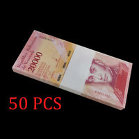 Half Bundle, Lot 50 PCS, Venezuela 20000 20,000 Bolivares, 2016/2017, P-NEW, UNC