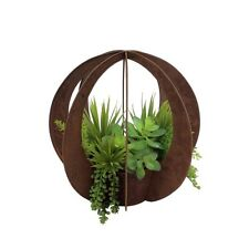 RUSTIC GARDEN POT VINTAGE FLOWER DECOR OUTDOOR INDOOR plant stand