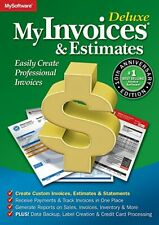 Avanquest MyInvoices & Estimates Deluxe 10.0 1# Best Selling Invoice & Billing