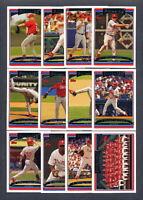 2006 Topps PHILADELPHIA PHILLIES Team Set w/ Update (33) Cards