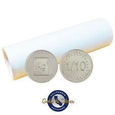 Roll of 50 New 1/10 oz AG Periodic Table Design .999 Fine Silver Rounds