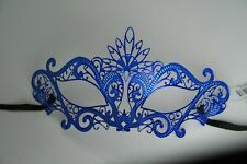 Royal Blue Metal Masquerade Mask MK117