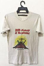 Vintage 1980 Bob Marley & The Wailers - Uprising 50/50 Reggae Rock Punk T-Shirt