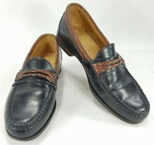 Allen Edmonds Newcomb Mens Leather Loafer Dress Shoes sz 9 D