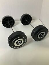 Vintage Barbie Country Camper 1970 Replacement Part Piece Only 2 Axle w 2 wheels