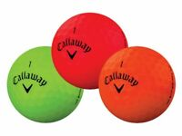 24 Callaway Supersoft Matte Color Mix AAA (3A) Used Golf Balls