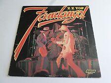 ZZ Top Fandango LP 1975 London Liner Vinyl Record