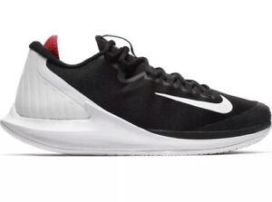 Nike Court Air Zoom Zero HC Tennis Shoes AA8018-016 Men's US 10 Black NEW $130