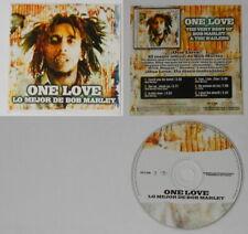 Bob Marley  One Love ep - Spain promo cd, Card cover