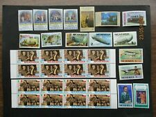 32  NICARAGUA MINT STAMPS