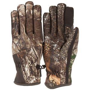 Huntworth Gunner Mossy Oak Break-Up Country L/XL Fleece Lining Midweight Gloves