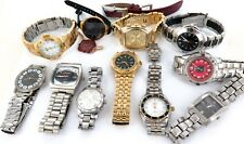 * JOB LOT MAINLY MENS DRESS / BLING WATCHES. ELGIN, KENNETH COLE, MICHAEL KORS