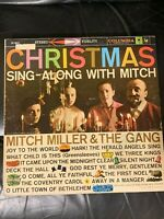 MITCH MILLER & THE GANG * CHRISTMAS Sing-Along with Mitch LP VINYL RECORD