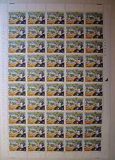 1996  ITALIA  850 lire  Corto Maltese   foglio intero MNH**