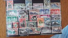 Briefmarken Großbritanien Kolonien Ceylon 1927,1935,1937,1949 Jahre. Höherer KW.
