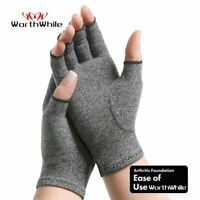 Arthritis Compression Gloves Hand Wrist Finger Support Joint Pain Relief Brace