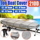 12 14 16 18 Boat Cover Heavy Duty Trailerable Jon Boat Cover Fits Jon Boat