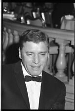 Burt Lancaster Candid portrait in Tuxedo 1960's original 35mm Camera Negative