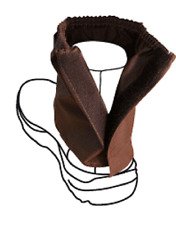 Over boots Oilskin Sock Protectors with Seam Waterproof Work Boot Cover