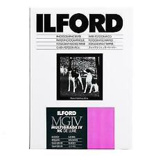 ILFORD Multigrade IV RC Deluxe Black and White Enlarging Paper 8x10 100 Sheets Glossy