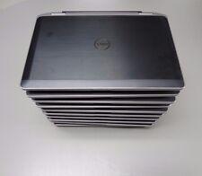 Lot of 10 Dell Latitude E6320 IntelCore i5-2520m, 2.50GHz, 4GB, NO HD W/ Battery