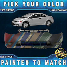 NEW Painted To Match - Front Bumper Cover for 2006 2007 2008 Honda Civic Coupe