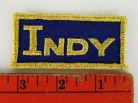 Vintage Indianapolis Indy Racing Tab Strip Patch