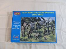 ICM 1:48 Soviet Pilots and Ground Personnel Model Kit 48021