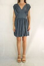 FRENCH CONNECTION Slate Blue Jersey Dress Size 10