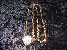 GOEGEOUS Joan Rivers Glitter Ball Necklace Pendant!