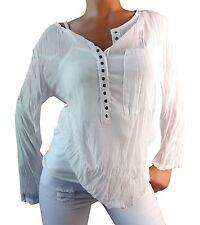Lockre Sitzende Hüftlang Damenblusen,-Tops & -Shirts im Blusen-Stil mit Mehrstückpackung