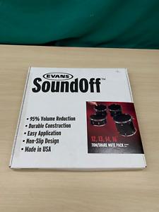 Evan's Soundoff Tom/Snare Mute Pack