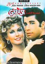 GREASE 20th ANNIVERSARY SHEET MUSIC BOOK EASY PIANO & VOICE NEW B005DKFIFO