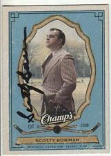 Scotty Bowman Autographed 2009-10 Champs Hockey Card Coaching Legend