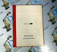 FIDIA CNC 10/20/30 BASIC SYSTEMS AND OPTIONS