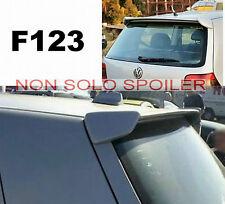 SPOILER  POSTERIORE ALETTONE VW  GOLF IV 4 GREZZO  F123G TR123-1