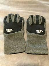 The North Face Gloves, Men's Size (Large) Fleece Gray/Black